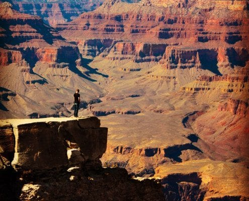 Grand Canyon Standing