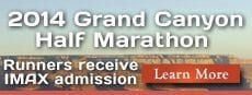 Grand Canyon Half Marathon 2014