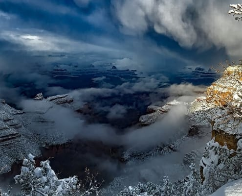 grand canyon winter activities