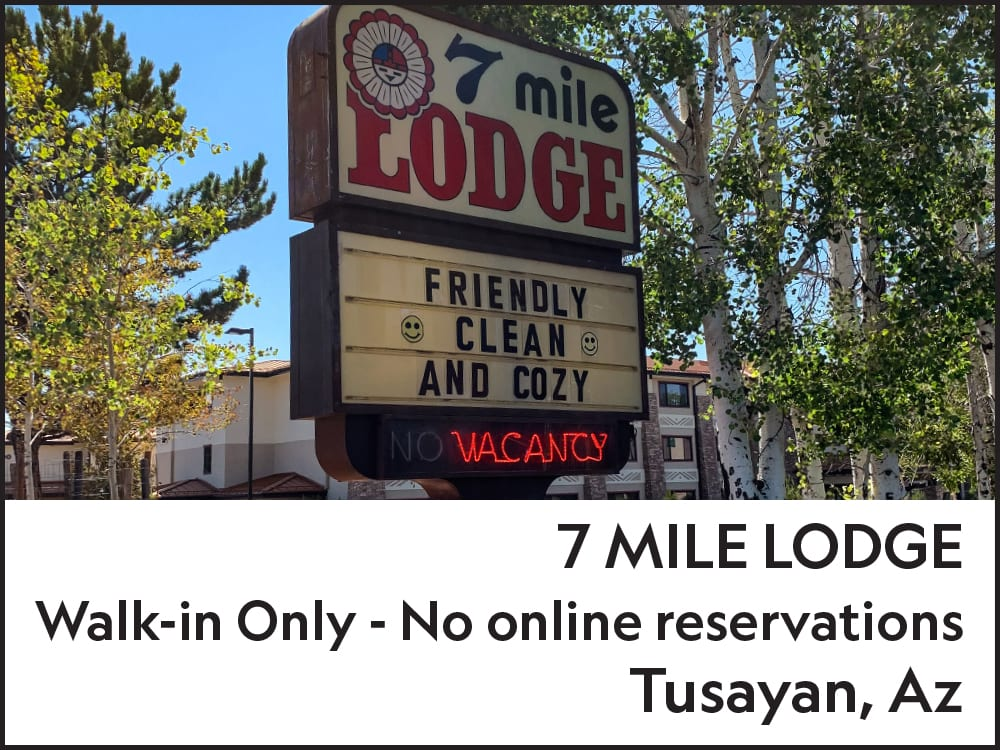 7 mile Lodge Tusayan