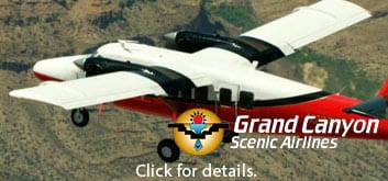 Grand Canyon Scenic Airline Tours